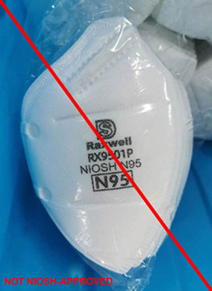 Counterfeit Respirator