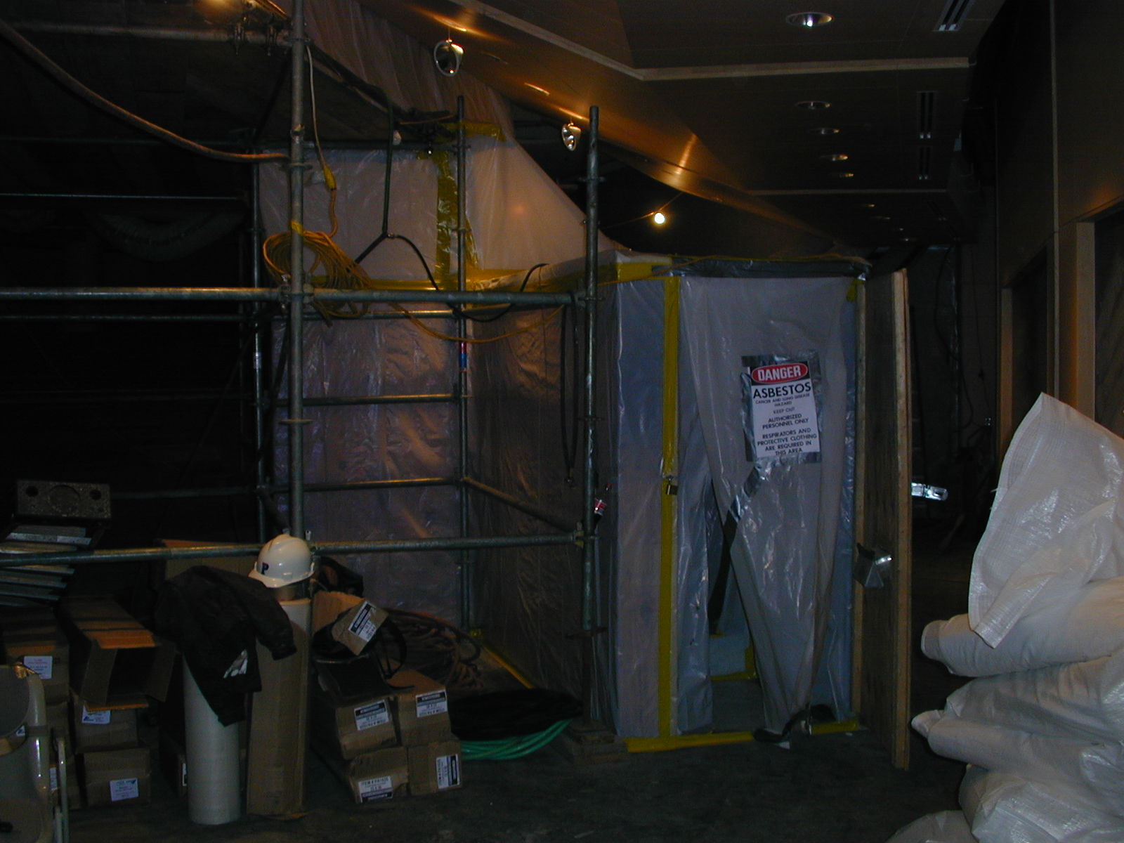 Asbestos Containment Photo