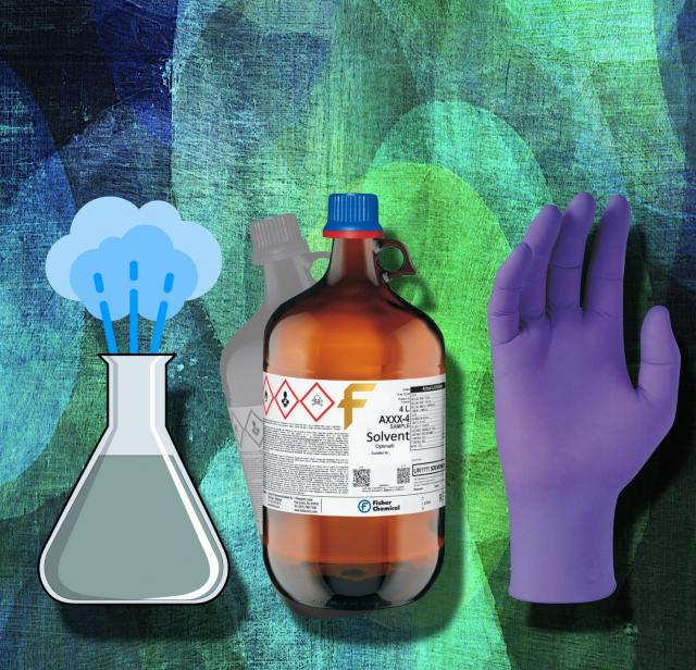 Three new CHP Fact Sheets: vapor, solvents, nitrile gloves